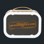 """North Central Positronics Lunch Box<br><div class=""""desc"""">The Dark Tower series is the story of Roland Deschain, the last gunslinger of the Mid-World. Throughout the series he travels across the post-apocalyptic landscape searching for the The Dark Tower, the nexus point of the time-space continuum. Widely considered Stephen King's magnum opus, this series will draw you in from...</div>"""