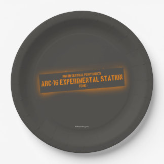 North Central Positronics Paper Plate