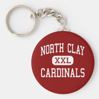 North Clay - Cardinals - Community - Louisville Keychain