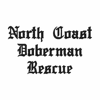 North Coast Doberman Rescue Embroidered Polo Shirt