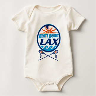 North Coast Lacrosse Sun 'n Waves Baby Bodysuit