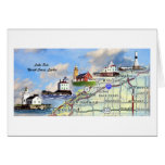 North Coast Lights Stationery Note Card
