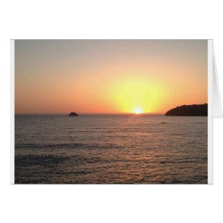 North Coast Sunset Card