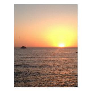 North Coast Sunset Postcard