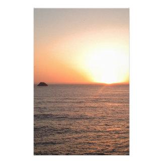 North Coast Sunset Stationery