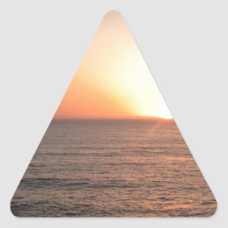 North Coast Sunset Triangle Sticker