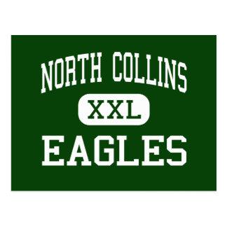 North Collins - Eagles - High - North Collins Postcard