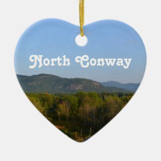 North Conway Ceramic Ornament