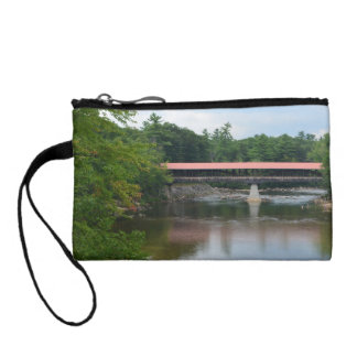 North Conway Covered Bridge Coin Wallet