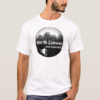 North Conway New Hampshire skier T-Shirt