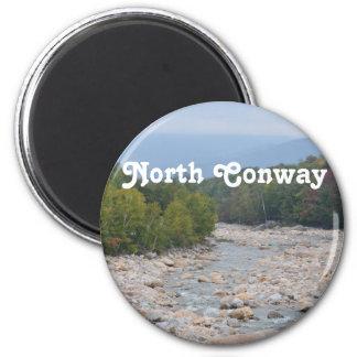 North Conway Wilderness 2 Inch Round Magnet