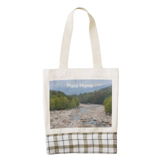 North Conway Wilderness Zazzle HEART Tote Bag