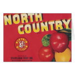 north country apples card