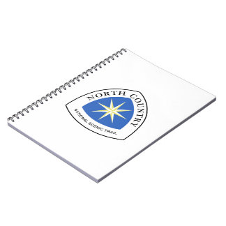 North Country Trail Sign, USA Notebook
