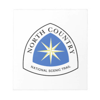 North Country Trail Sign, USA Notepad