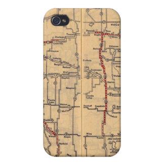 North Dakota 2 iPhone 4 Case