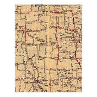 North Dakota 2 Postcard