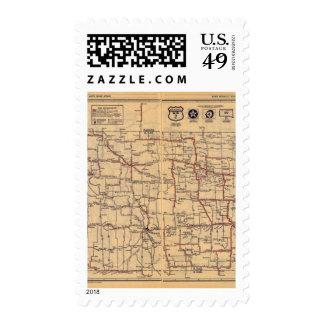 North Dakota 2 Stamps