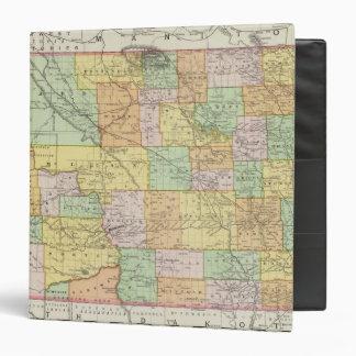 North Dakota 3 Ring Binder
