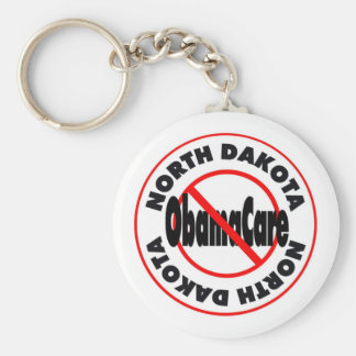 North Dakota Anti ObamaCare – November's Coming! Keychain