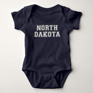 North Dakota Baby Bodysuit