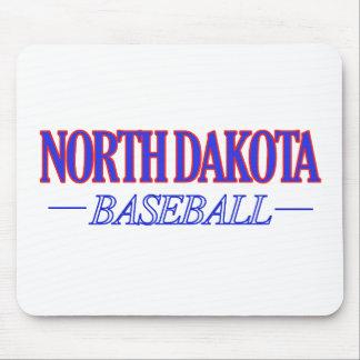 North Dakota baseball DESIGNS Mouse Pad