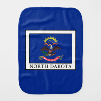 North Dakota Burp Cloth