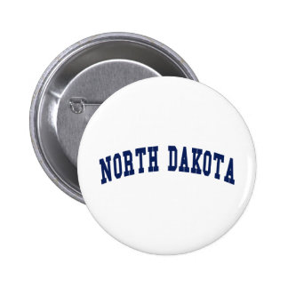 North Dakota College Pinback Buttons