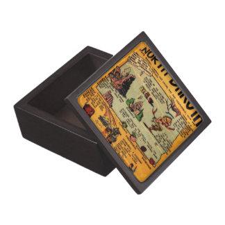 North Dakota Comic Book Gift Box