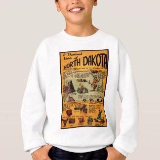North Dakota Comic Book Sweatshirt