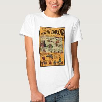 North Dakota Comic Book T-Shirt
