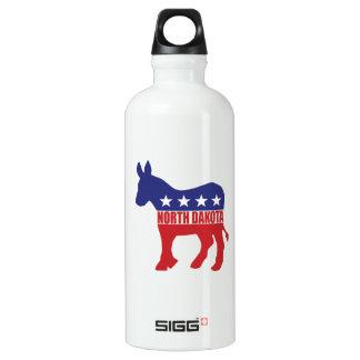 North Dakota Democrat Donkey Water Bottle