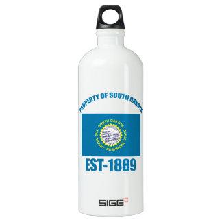 North Dakota design Aluminum Water Bottle
