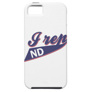 North Dakota design iPhone SE/5/5s Case