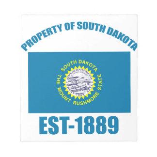 North Dakota design Notepad
