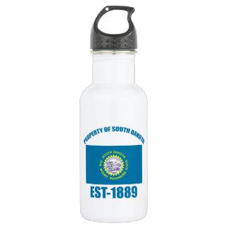 North Dakota design Water Bottle