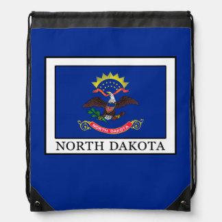 North Dakota Drawstring Backpack