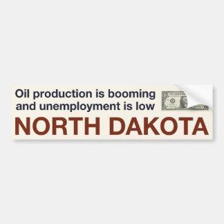 North Dakota Economic Prosperity Bumper Stickers