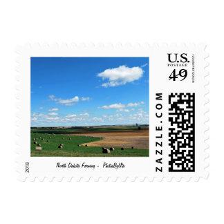 North Dakota Farmland Postage