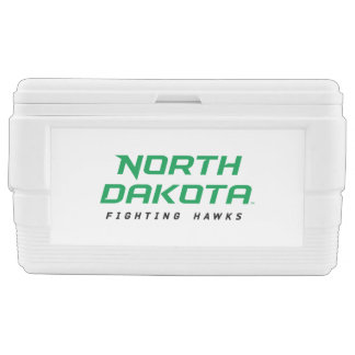 North Dakota Fighting Hawks Chest Cooler