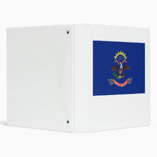 North Dakota Flag Binder