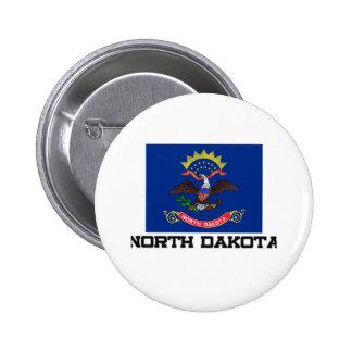 North Dakota Flag Pin
