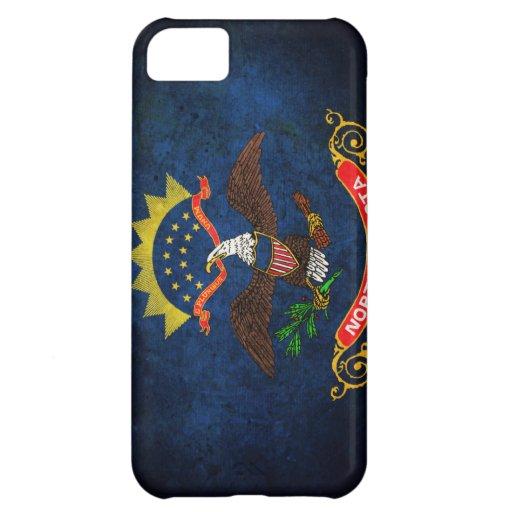 North Dakota Flag iPhone 5C Cases