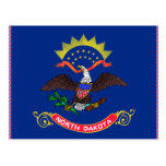 North Dakota Flag Post Card