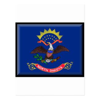 North Dakota Flag Postcard