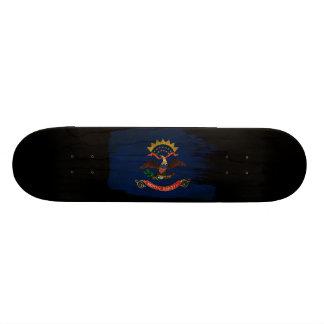 North Dakota Flag Skate Board Deck