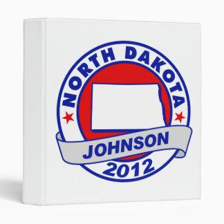 North Dakota Gary Johnson Binders