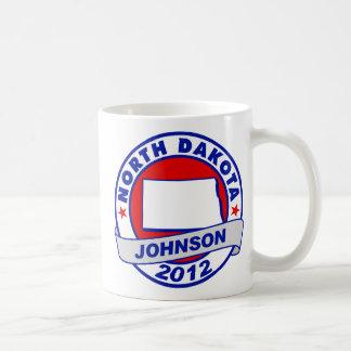North Dakota Gary Johnson Mugs