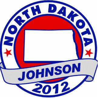 North Dakota Gary Johnson Photo Cut Out