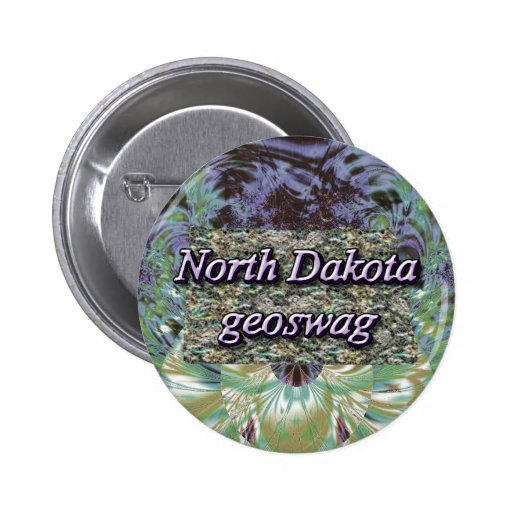 North Dakota Geoswag Swags Geocaching Gifts Loot Buttons